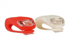 Malker Bicycle Light Front and Rear Silicone LED Bike Light Set